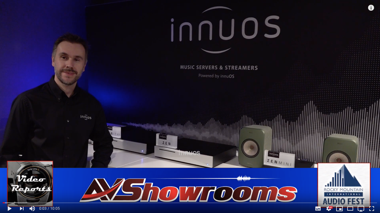 First Video review of the Innuos Phoenix USB Re-clocker
