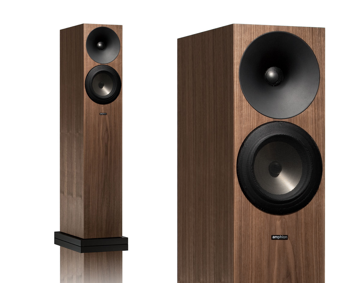 Amphion Argon3ls Walnut