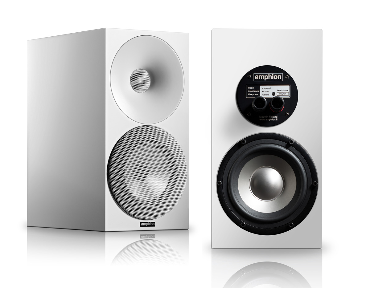 Amphion Argon3s Full white