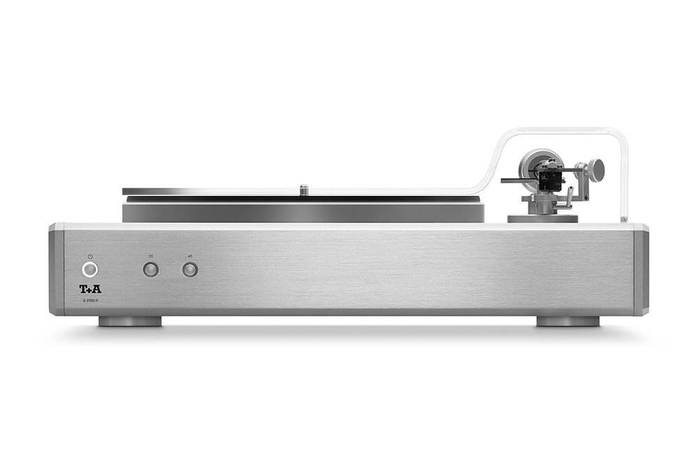 G2000 Turntable Silver