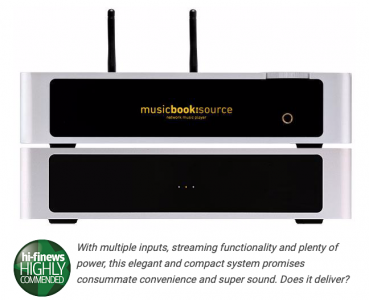 Lindemann Musicbook Source & Power 1000 highly commended by HI-FI News